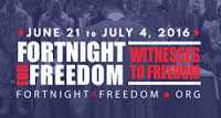 fortnight for freedom 2016